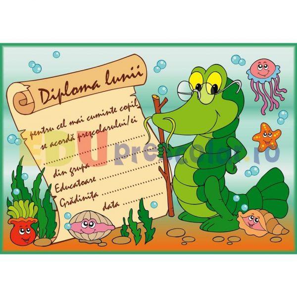 Diploma motivationala pentru cel mai cuminte copil - dm07