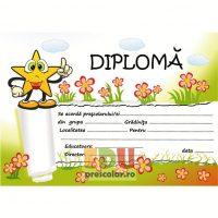 diploma cu stelute