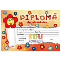 diploma absolvire floricele