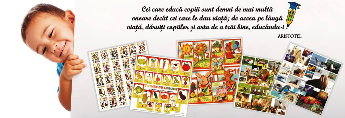 Materiale educationale pentru prescolari
