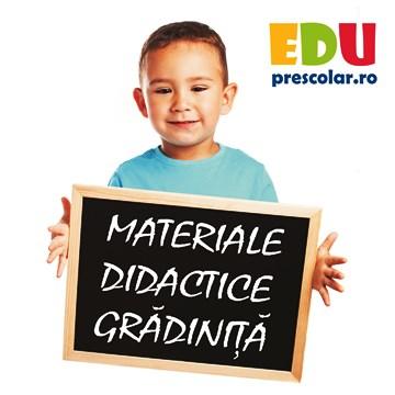 Materiale Educationale pentru Copii Prescolari!