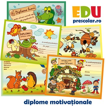 Motivatia Prescolarului - Diplome