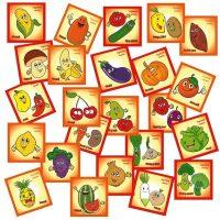 jetoane cu fructe si legume