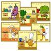 recompensa la prescolari - cartonase motivationale cu legumele bucatari