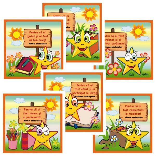 cartonase motivationale clasa stelutelor