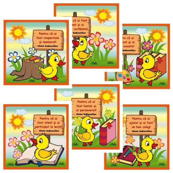 cartonase motivationale clasa boboceilor