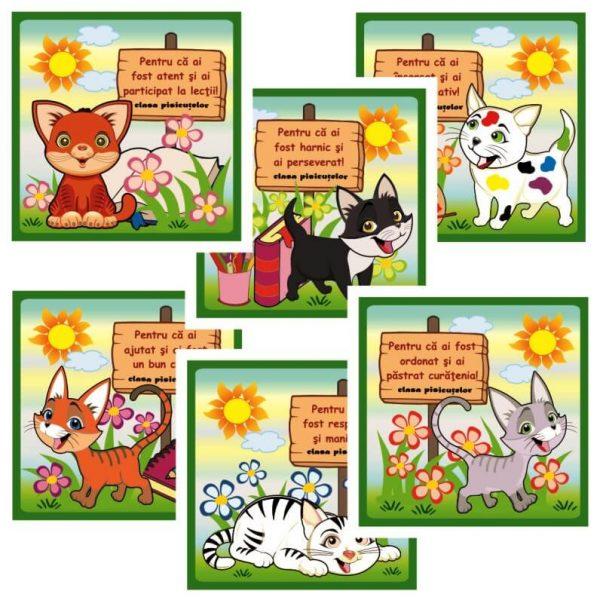 cartonase motivationale clasa pisicutelor