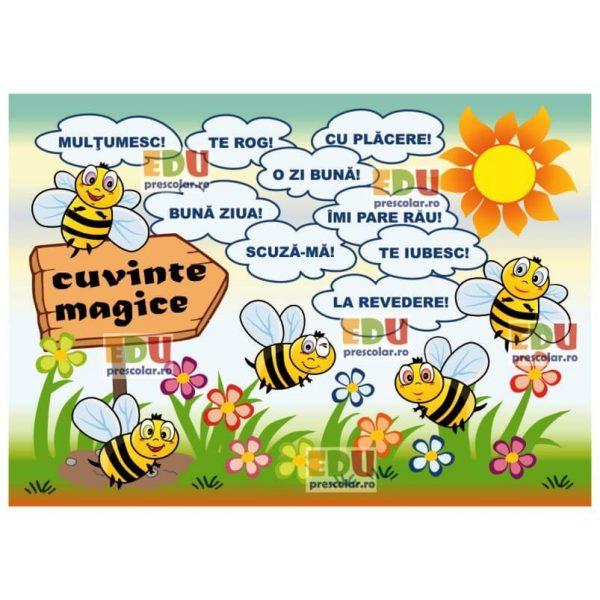 cuvinte magice grupa albinutelor