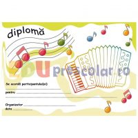 diploma concurs muzica - acordeon