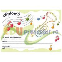 diploma concurs muzical cu trompeta