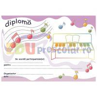 diploma personalizata concurs pian