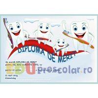diploma de merit dentist dd02