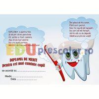 diploma de merit la dentist cu maseluta dd03