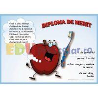 diploma de merit la dentist cu mar fericit dd07