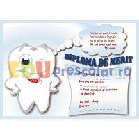 diploma de merit la dentist cu maseluta ce face cu ochiul - dd08