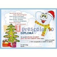 diploma de merit la dentist de craciun - dd11