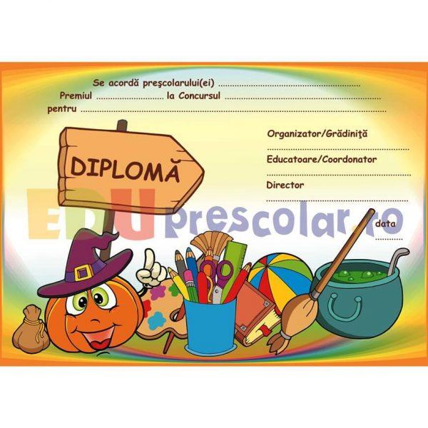 diploma de halloween dh01