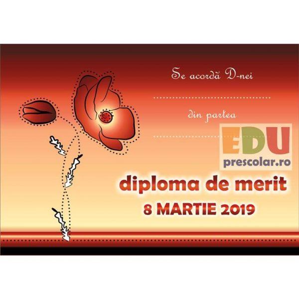diploma pentru ziua mamei