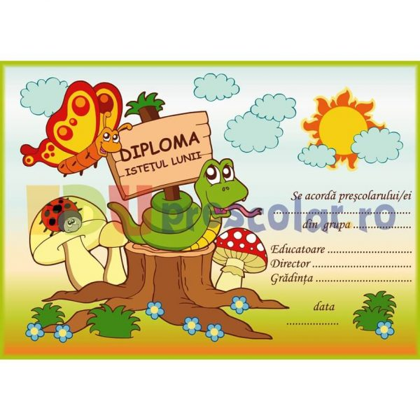 diploma prescolari motivationala pentru istetime - dd01