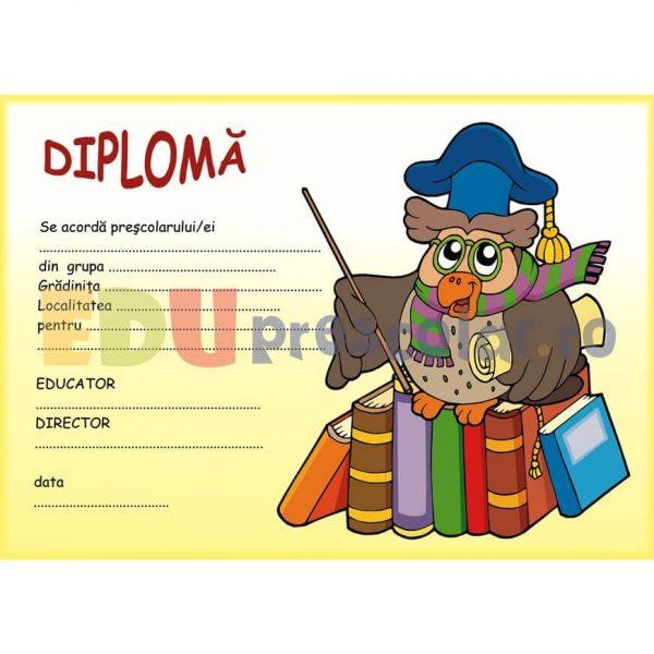 diploma pentru prescolari la absolvire - dpa01