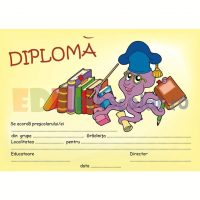diploma de absolvire gradinita cu sarpe - dpa03