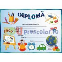 diploma de absolvire pentru prescolari - dpa08