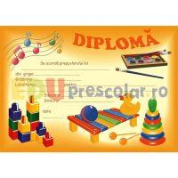 diploma de absolvire prescolari grupa mica - dpa09