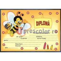 diploma prescolari cu albinuta harnica - dpa13
