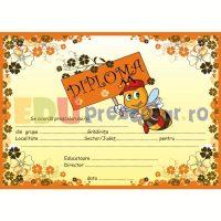 diploma pentru prescolari cu albinuta dpa19