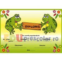 diploma pentru prescolari grupa broscutelor - dpa20