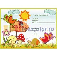 diploma pentru prescolari cu fluturasi - dpa23