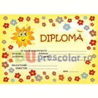 diploma grupa florilor -dpa29