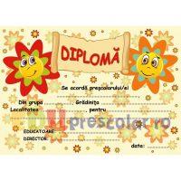 diploma pentru grupa florilor - dpa30