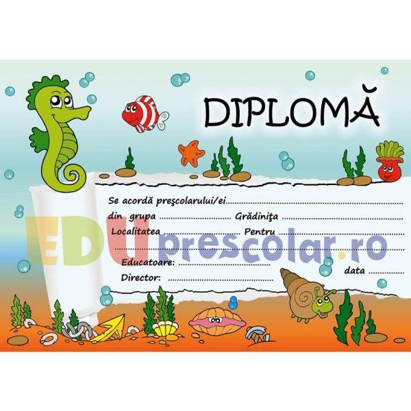 diploma de absolvire gradinita, grupa calutilor - dpa38