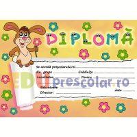 diploma pentru prescolari, grupa iepurasilor - dpa40