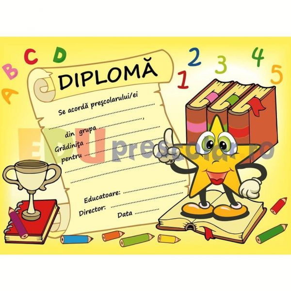 diploma absolvire grupa stelutelor - dpa43