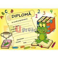 diploma pentru prescolari cu broscuta - dpa46