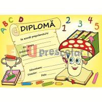 diploma pentru prescolari cu ciupercute - dpa48