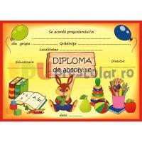 diploma pentru prescolari, grupa iepurasilor - dpa54