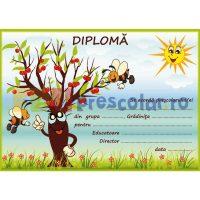 diploma cu albinute la cirese - dpa55
