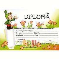 diploma absolvire grupa piticilor