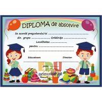 diploma absolvire prescolari