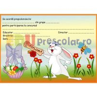 diploma cu iepuras dps05