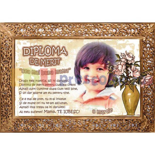 diploma cea mai buna mama dpz04