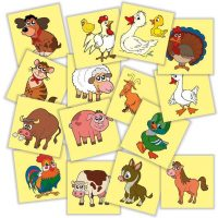 Jetoane cu animale si pasari domestice din Romania