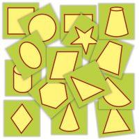 jetoane matematice cu formele geometrice - limbaj si comunicare
