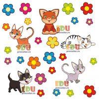 mascote pisicute