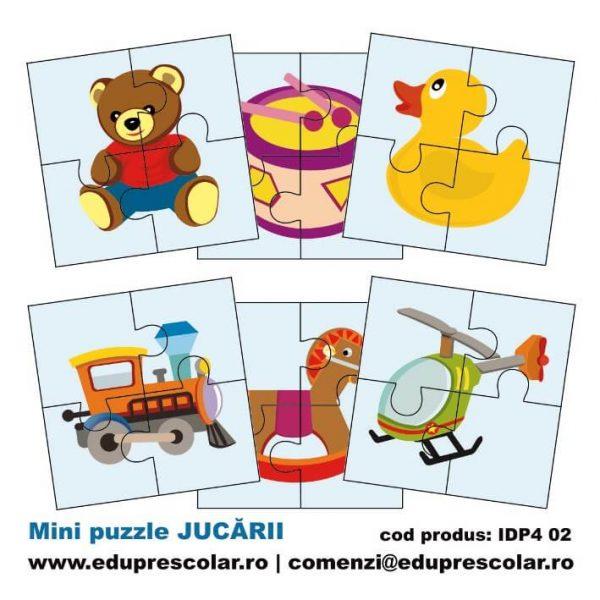 mini puzzle jucarii