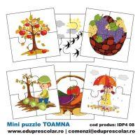 mini puzzle anotimpul toamna