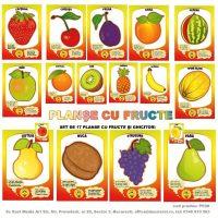 planse cu fructe vesele